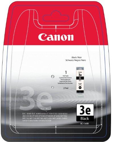 Canon 4479A297 BCI-3EBK Tintenpatrone schwarz Blister with security