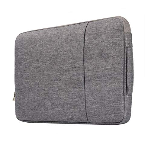 Simplicity Laptop Sleeve Case 14/15./15.6 Inch Notebook Travel Carrying Bag Waterproof Protective Cover For Macbook Air Pro 13 15 (Color : Gary, Size : 11 inch)