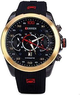 ساعة رجالية من كورين بسوار مطاطي, كوارتز, 8166GB