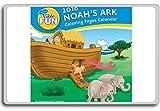 Imán para nevera con cita motivacional de Noah's Ark 2016