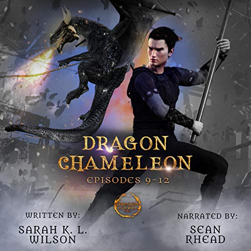 Dragon Chameleon: Episodes 9-12 cover art