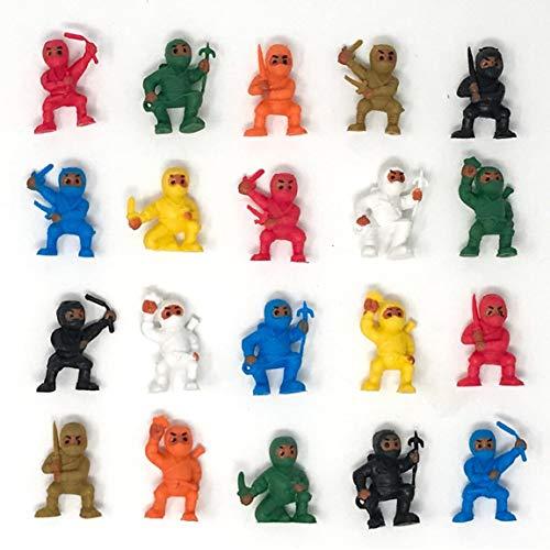 Ninja Toy Figures - Lot of 20 Tiny Figures