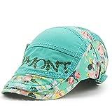 wopiaol Version coréenne du Chapeau de Protection Solaire de Couleur de Protection Solaire, Chapeau de Broderie de Coton de Dames Nouveau Chapeau de Style