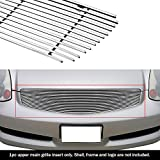 APS Compatible with 2003-2007 Infiniti G35 Billet Grille Insert S18-A20658N