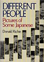 Different People: Pictures of Some Japanese 087011820X Book Cover