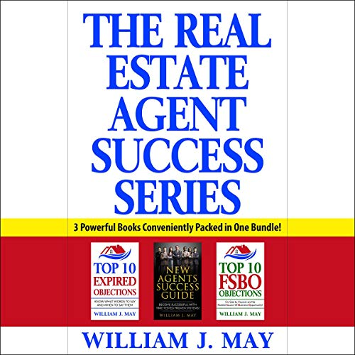 The Real Estate Agent Success Series audiobook cover art