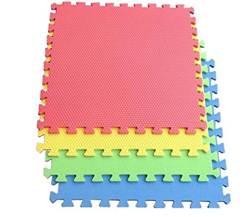 oshidede 10 stücke Puzzle Spielmatten, Cartoon Tier Muster Teppich Eva Schaum Puzzle Matten Kinder Boden Puzzles Spielmatte Für Baby Spielen Gym Krabbeln Matten Kinder