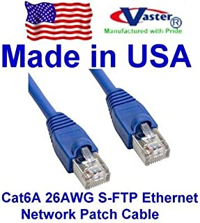 CAT 10 Ft 10 Pack 20979 6 Patch Cable UL CSA ETL 24Awg Wire RJ45 Snagless Straight Patch Cable Yellow Vaster SKU Not CCA Wire 100/% Copper