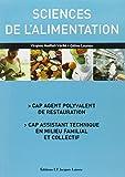 CAP - Sciences de l'alimentation - Elève