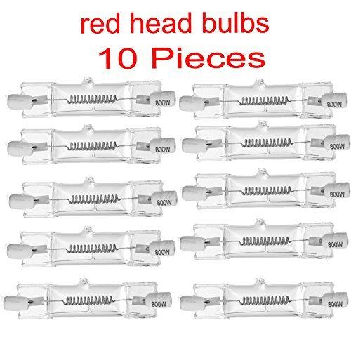 bombilla Redhead/halógena de tungsteno continua del bulbo principal rojo de la luz de 800W Estudio BOMBILLA 10 DXX PC