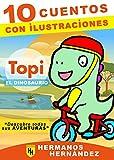 TOPI EL DINOSAURIO: Cuentos infantiles ILUSTRADOS de 4 a 12 años