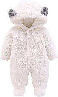 DIDWZW Baby Bear Velvet Quilted Puffer Suit Infant Animal Snowsuit Jumpsuit Costume Clothes Cotton Sleepwear Newborn Toddl...