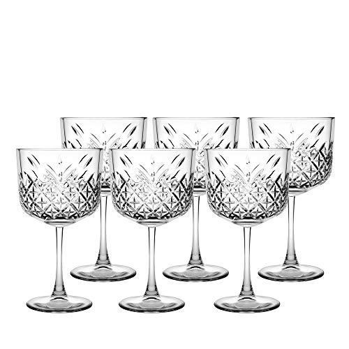 Pasabahce Set 4 Calici Timeless Gin&Tonic 55 Arredo Tavola, 500 milliliters, Vetro, Trasparente