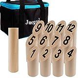 Juegoal Wooden Throwing Game Set, Numbered...