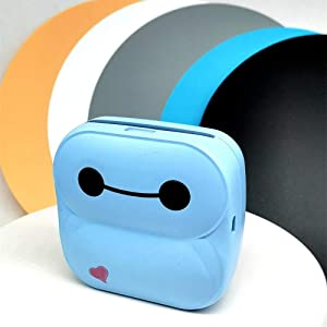 Mini Printer Photo Printer Mini Bluetooth Wireless Pocket Printer Thermal Paper Printer Handheld Thermal Printer