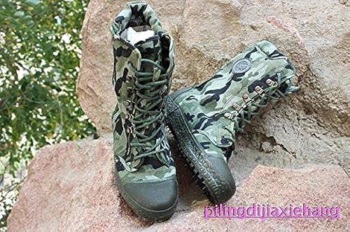 mann tarnung wüste outdoor hohen zylinder stiefel, antiskid und tragbare,37, Größe