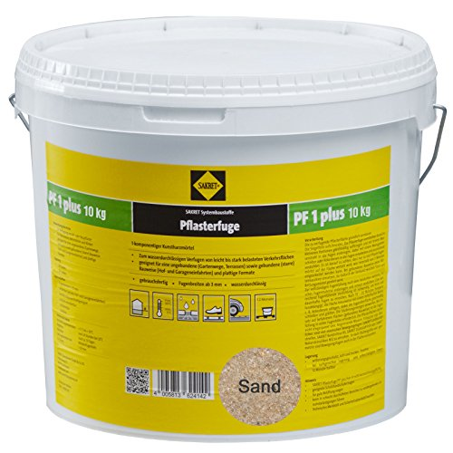 Preisvergleich Produktbild Sakret Pflasterfugenmörtel PF1 Plus (10kg,  Sand)