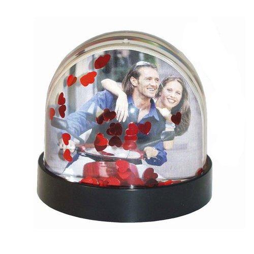 Dorr Sneeuwbol met Hartjes fotolijst - Rood