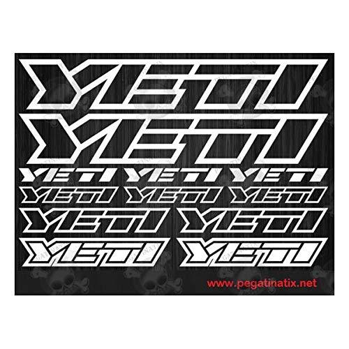 Adesivi per mountain bike Yeti Stickers Decals AUFKLEBER autocollant Full Color