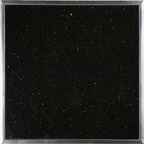 IDEENREICH Granitfeld klein, 25 x 25 x 1,2 cm, Galaxy Star, 1...