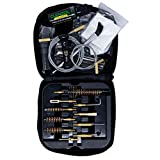 CLENZOIL Field & Range Tactical Gun Cleaning Kit | Black | All-in-One Rifle & Pistol Cleaning Kit | Includes Field & Range CLP, Bore Brushes, Patches, Rod, Cable, Handle, Brush, Tools & More!
