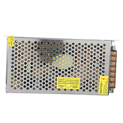 Transformador de fuente de alimentación, 110 / 220V DC 12V 500W AC Fuente de(12V10A (120W))