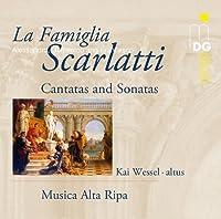 La Famiglia Scarlatti - Cantatas And Sonatas (1996-04-23)