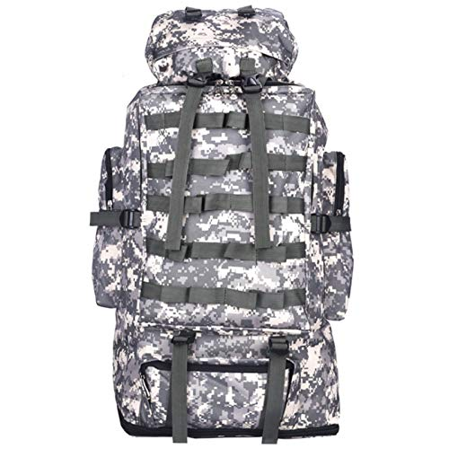 CuiCui 40L Military Tactical Backpack Backpack Outdoor Hiking Camping Camping Hiking Hunting,ACU camouflage
