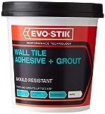 Evo-Stik Tile A Wall Adhesive & Grout for Ceramic & Mosaic Tiles 500ml EVO416505