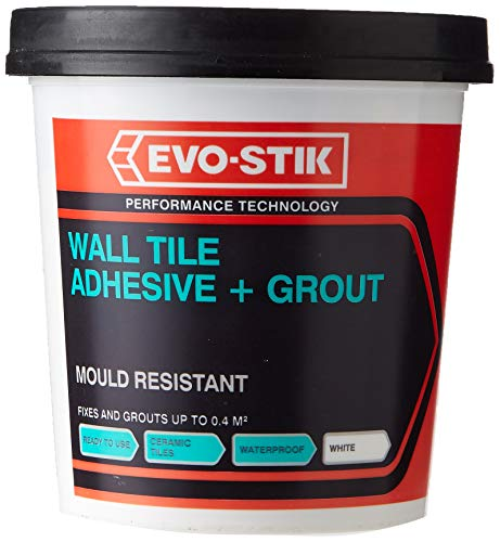 Evo-Stik EVO416505 Tile a wall adhesive & grout for ceremic & mosaic tiles