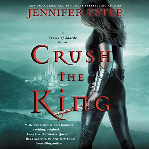 Crush the King audiobook cover art
