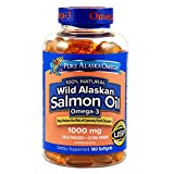 Expect More Wild Alaskan Salmon Oil Softgels (180 ct.) s