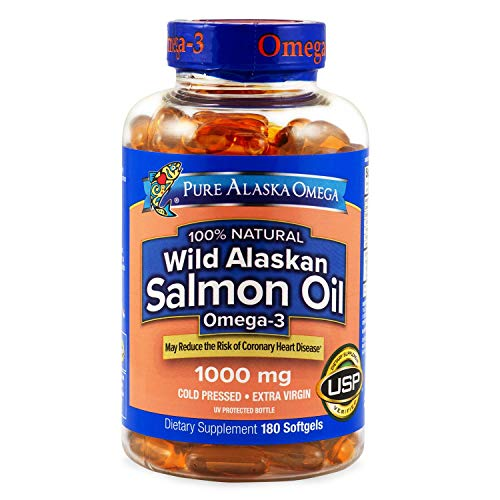 Expect More Wild Alaskan Salmon Oil Softgels 180 ct s