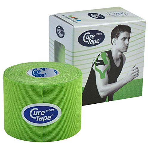 Cure Tape Sports, 5 m x 5 cm, wasserfest, Limone