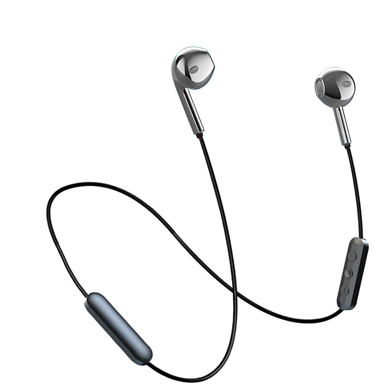 十分にマインドオープナー[2019音質強化バージョン] Bluetooth イヤホン 金属筐体 ブルートゥース ワイヤレス イヤホン 低音重視 10時間連続再生 AAC対応 マイク付き ハンズフリー通話 iPhone Android対応