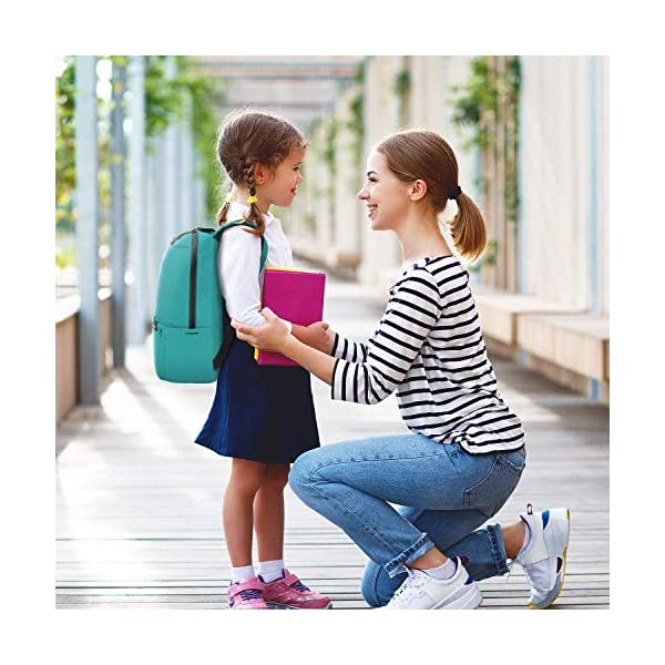51jEcTURLxL. SS600  - How.R.U - Mochila Portatil Escolares Juveniles, Mochila Pequeñas Viaje Mujer/Hombre, Mochila Verde Niña Mini, Mochila…