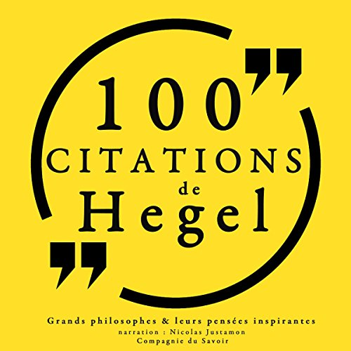 100 citations de Hegel Titelbild