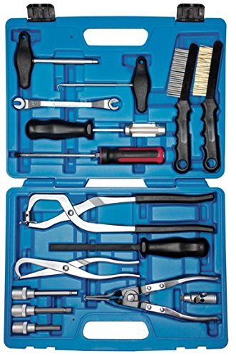 SW-Stahl Tambour de Frein Set d'outils dans Un Coffret Professionnel - 15 pièces-s1850