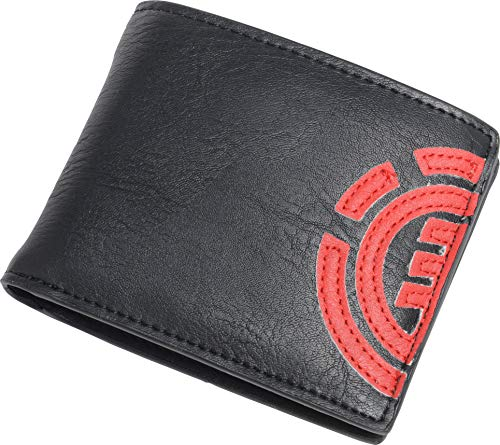 Element Men's Daily Bi-Fold Wallet, FIRE RED, One Size