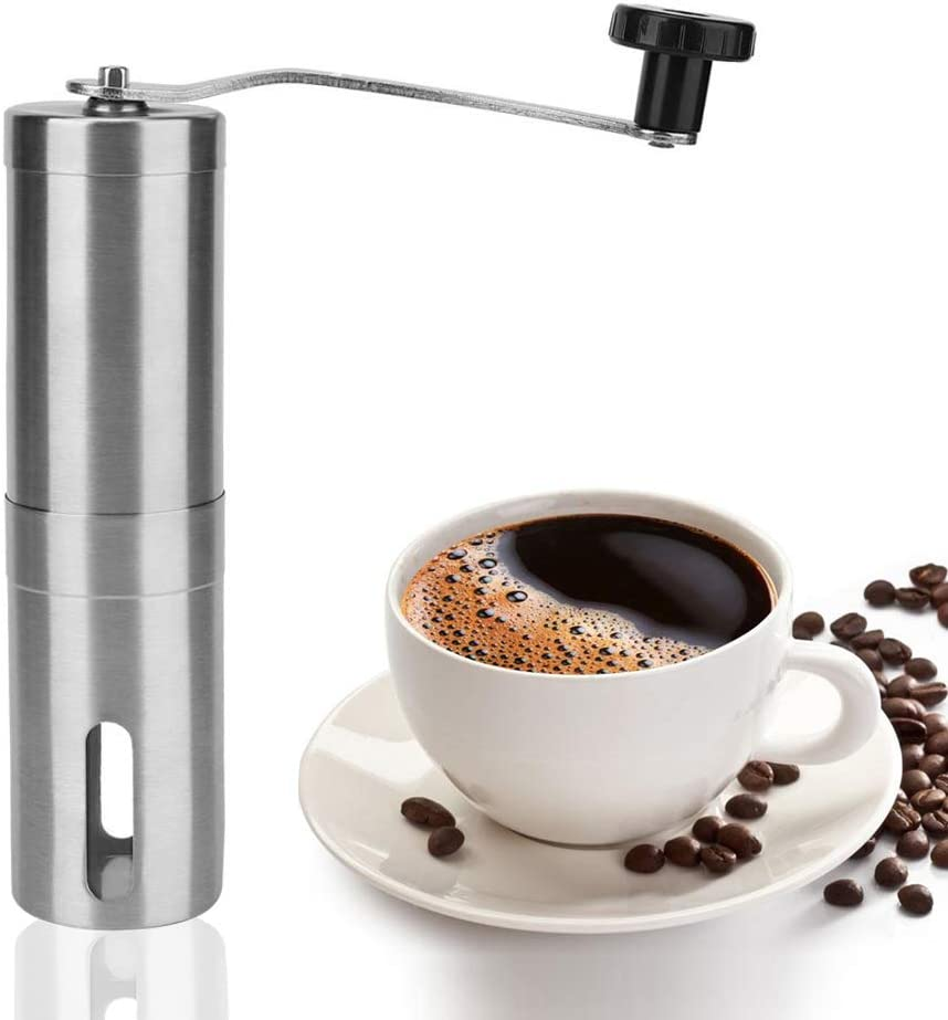 Manual Coffee Grinder Max 73% OFF Whole Bean Conical French P Mill Burr Ranking TOP7 for