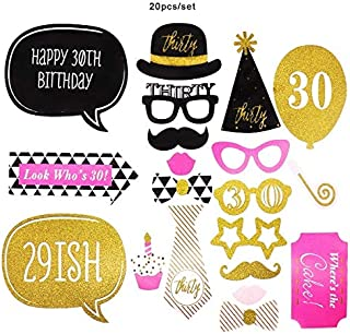 Photo Frame Prop With New Design, Birthday Party 30th 40th 50th Photo Booth Props Frame Funny Mask Glasses - Birthday Photo Booth Props, Birthday Photo Booth, Birthday Photo Booth Frame