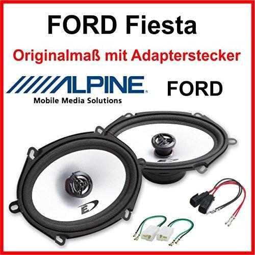 ALPINE 5x7 speziell für Ford Fiesta Vordere Türen/Hintere Türen 2001-2008