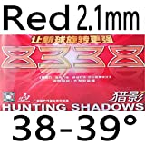 Doublefish Hunting Shadows 8338 Professional Inner Power Table Tennis Racket Rubber with Sponge Strong...
