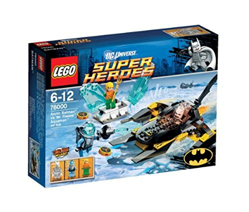 LEGO Super Heroes 76000 - Arktischer Batman vs Mr Freeze, Aquaman auf dem Eis