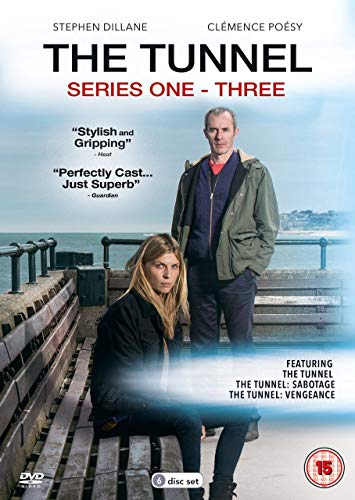 The Tunnel - Series 1-3 [DVD]