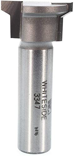 wholesale Whiteside Router Bits 3347 online sale Locking Drawer Glue Joint Bit with 1-Inch new arrival Large Diameter 1/2-Inch Cutting Length outlet sale