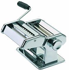 GEFU 28300 Makaron PERFETTA DE Luxe z 3 różnymi załącznikami - maszyna do przygotowania makaronu