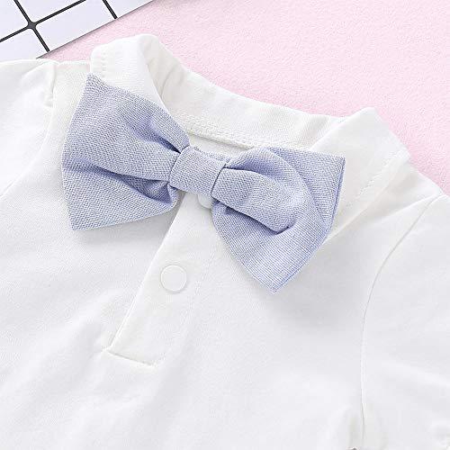 Xuefoo Nursery Time Baby Boys 3 Pack Sleeveless Env Neck Cotton Bodysuit Body Vest, Sky Blue, 12-18 months, White,  3-6 Months