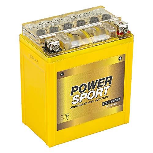 ExpertPower YTX7L-BS 12v 7Ah Motorcycle Gel Battery