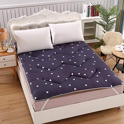 YQCSLS Matratzenauflage, Klappmatratze, hypoallergen, Tatami Mats Student Matratze Individuelle Doppelklapp-Vorahnung for das Schlafzimmer im Haushalt (Color : D, Size : 120x200cm(47x79inch))
